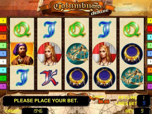 Игровые автоматы колумба интернет казино виртуальное